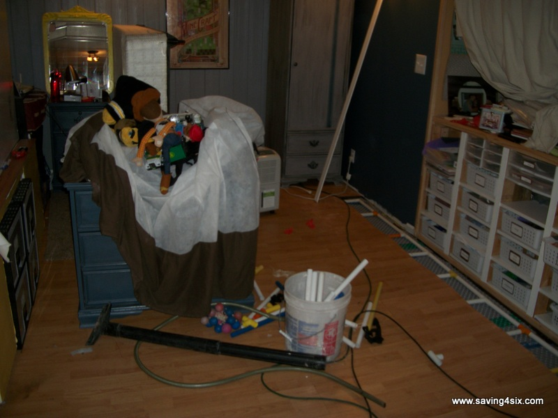 dealing with a flooded basement
