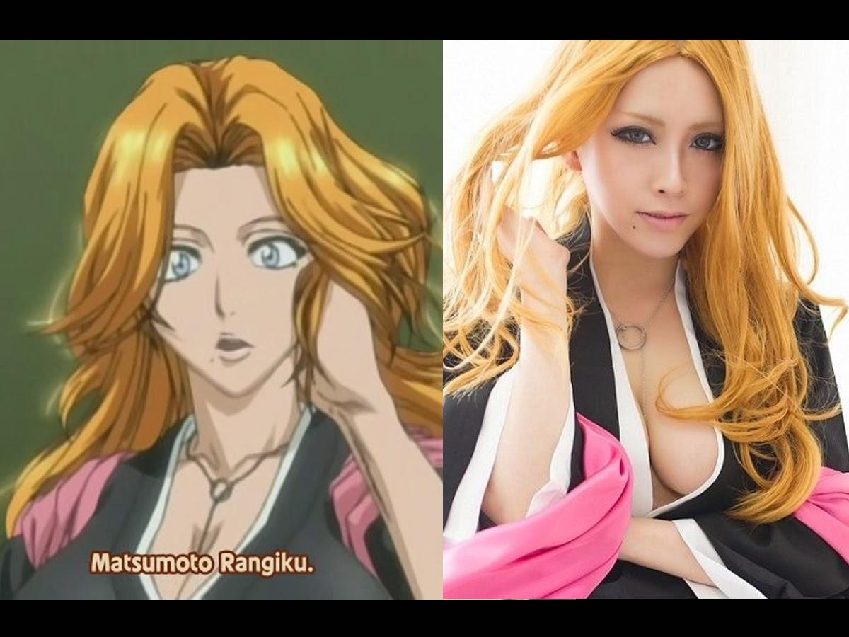 Rangiku Matsumoto Cosplay dan Anime