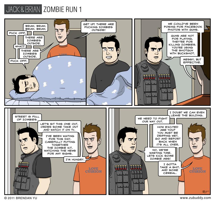 Zombie Run 1
