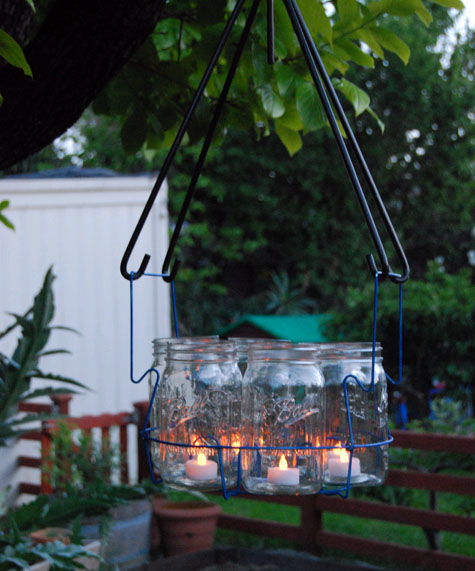 Wonderfully Made June 2011 – Outdoor Votive Candle Chandelier