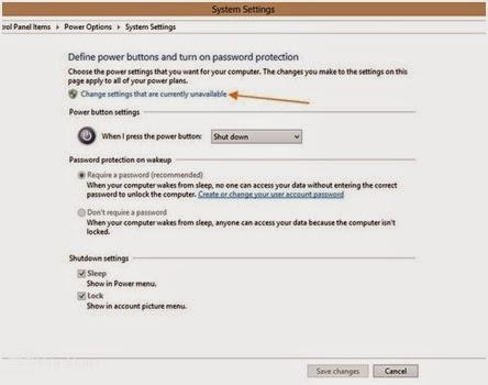 Tips Tentang Cara Menambah atau Menghapus Sleep atau Hibernate dari Menu Power Option di Windows 8