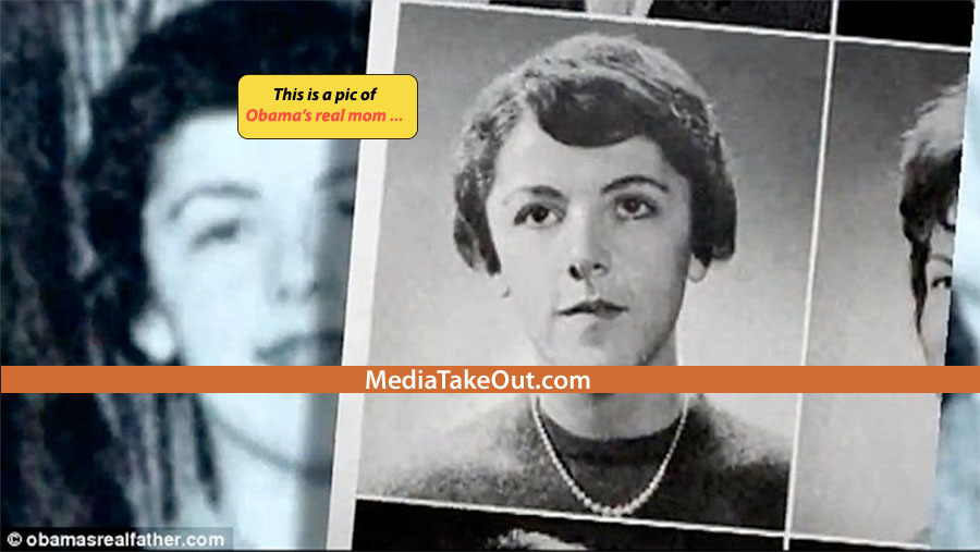 Naked pictures of obamas mom assured, that