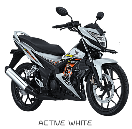 Honda Sonic 150R Active White