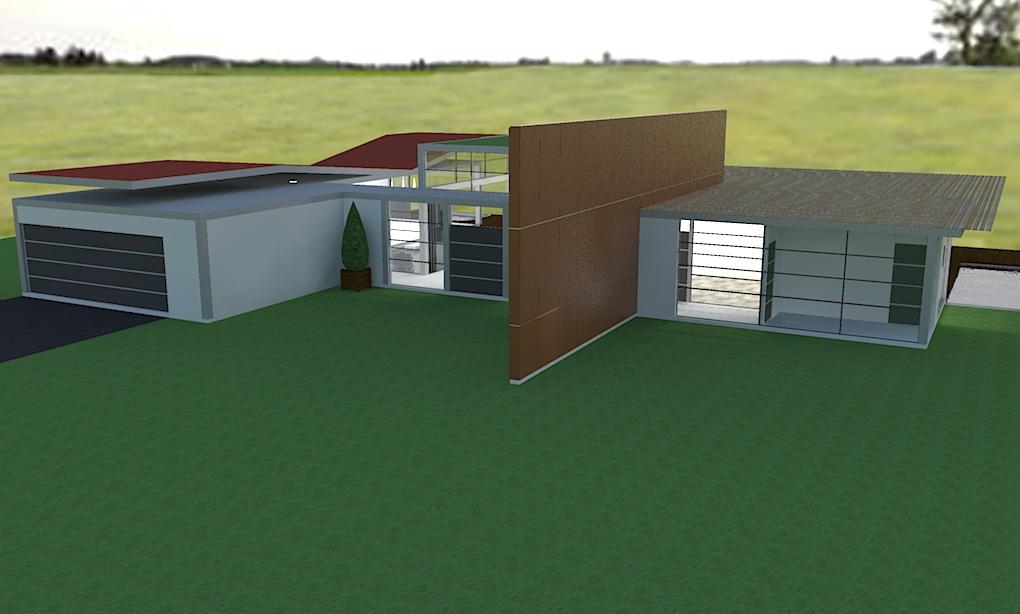 Interiores 3d casa de campo - Interiores casa de campo ...