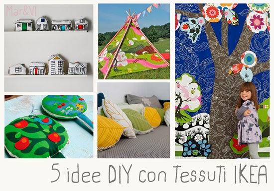 Mar vi blog arredare con i tessili 5 idee diy con i - Ikea tessuti a metraggio ...
