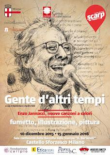 Jannacci a colori - Milano dal 10/12/2015
