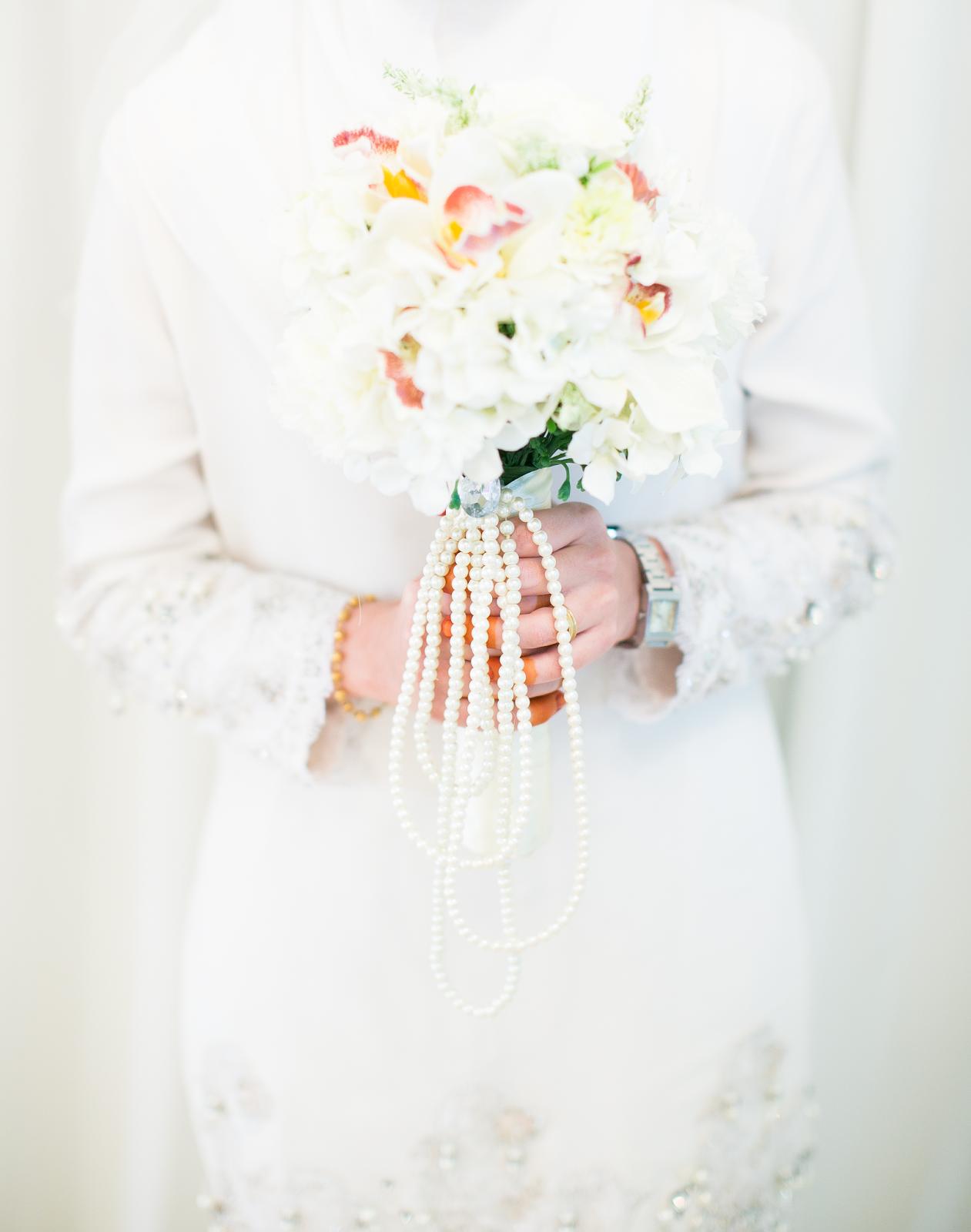 Dais & akad nikah dress from Nurza Wedding House , Kota Bharu
