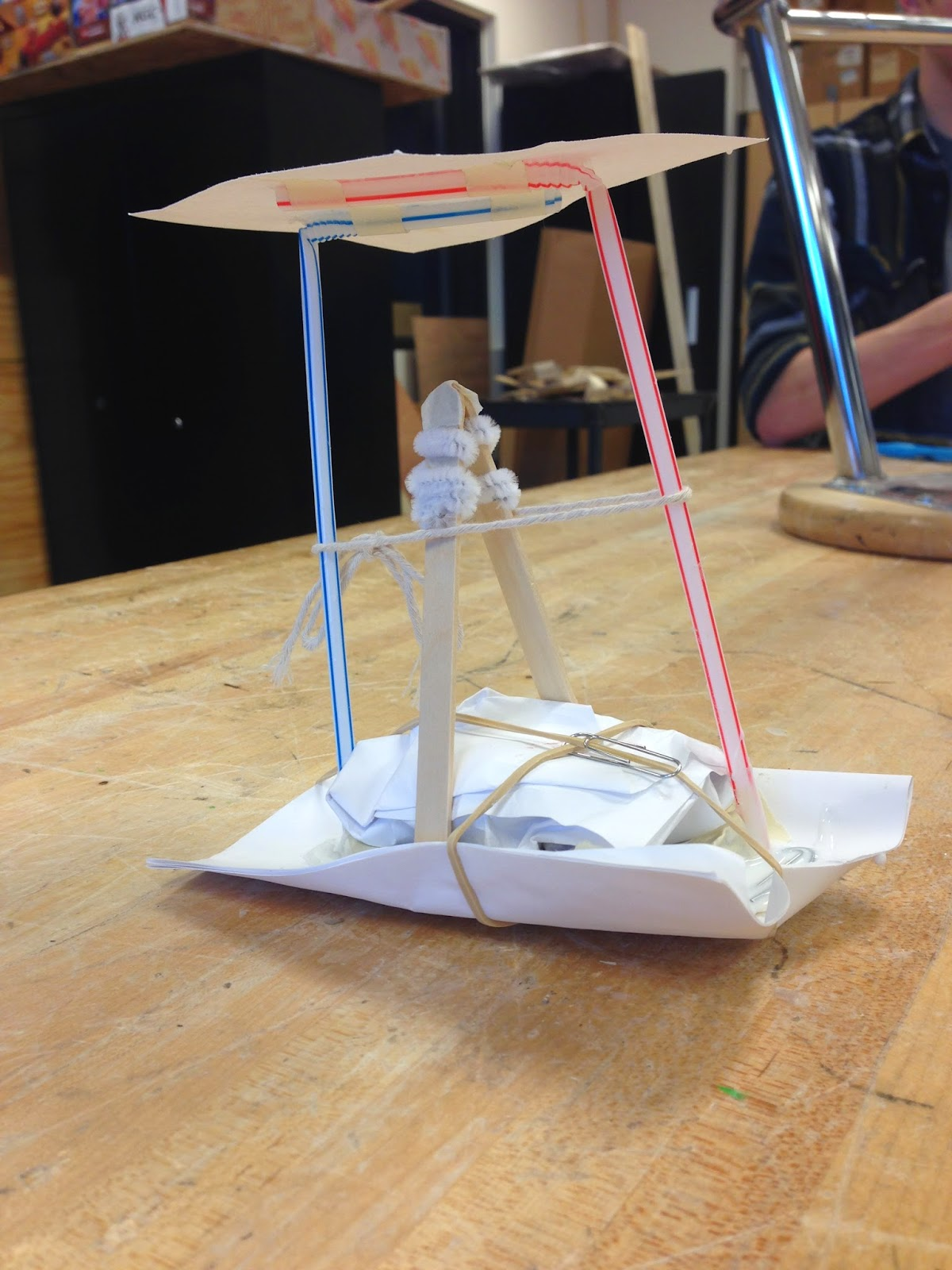 egg drop project essays When you drop the egg, the strings that are attached to the sandwich bag pull down and this open the bag to full size, which creates a large surface area and more wind resistance more wind resistance slows down the descent of the egg you can explain the results of this experiment with the concept.