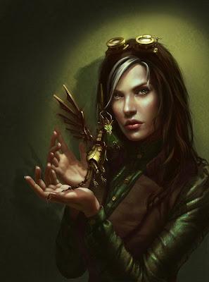 Mujer con duende
