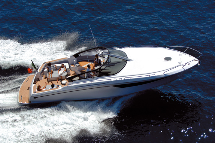 Baia One 43 Force. Builder: Baia Yacht Loa: 43.9` Beam: 15.2`
