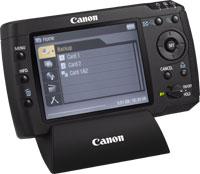 almacenamiento masivo de imagenes de Canon, haz un backup de tus fotos y previsualiza tus RAW sin necesidad de ordenador