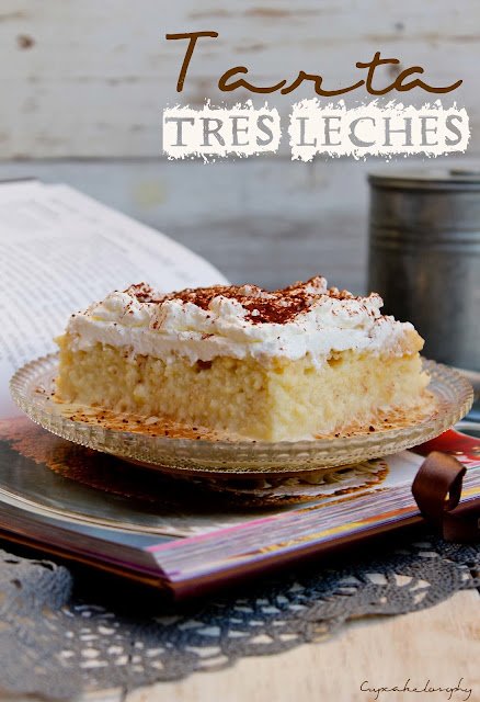Tarta Tres leches