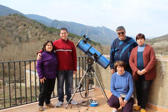 Eclipse de Sol 2015 - Grupo2 - El cielo de Rasal