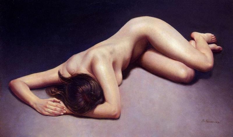 D.W.C. Spanish Figurative - Painter Soledad Fernandez