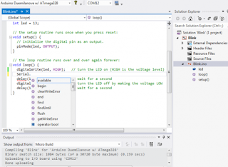Visual Micro Arduino IDE para o Visual Studio