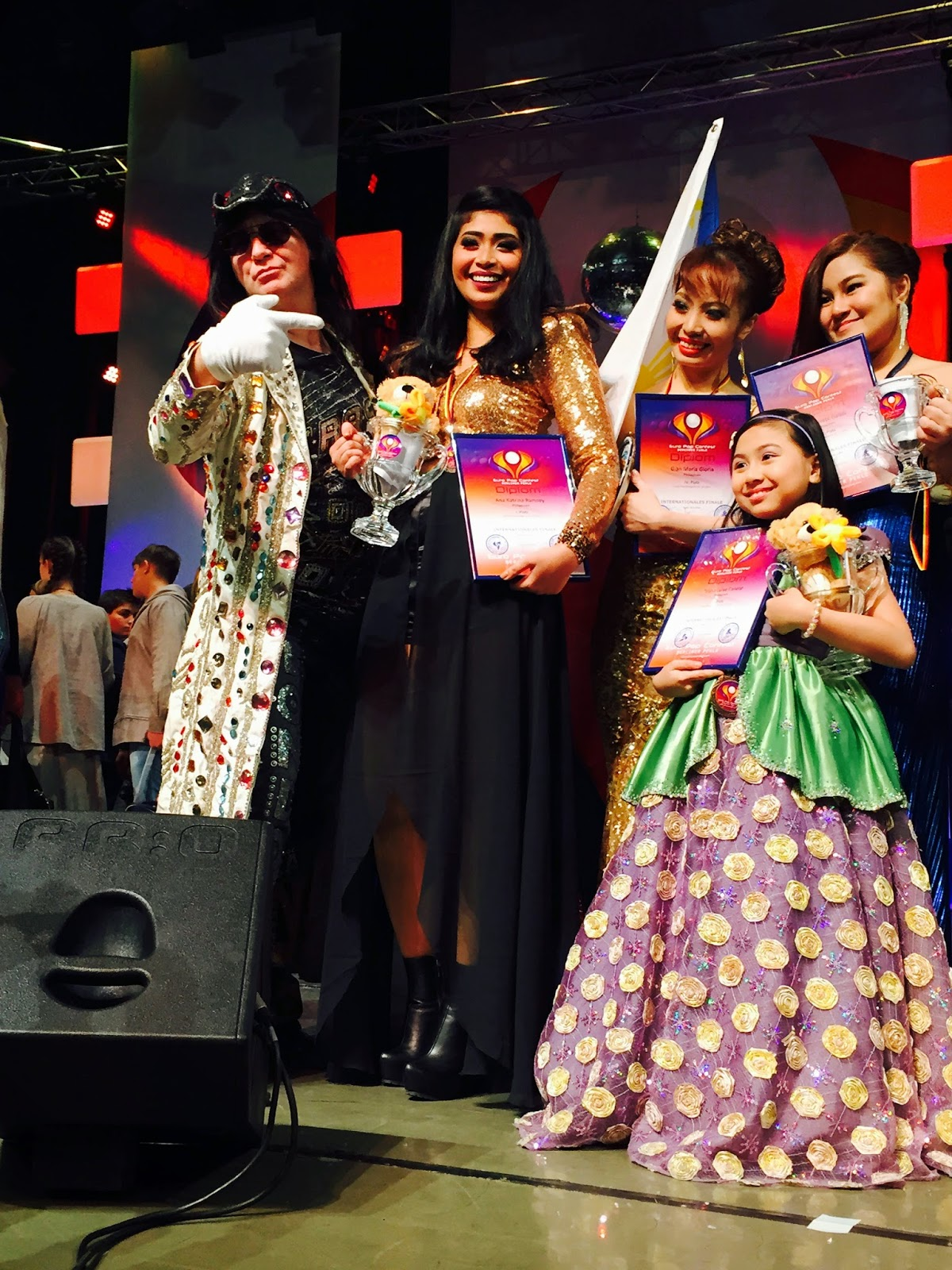 Goin' Bulilit star Chacha Cañete wins 2nd Place in Europop 2014 Berlin