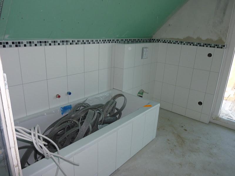 geflieste dusche estrich unser haus in meimersdorf feinputz - Geflieste Dusche Estrich
