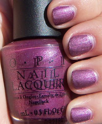OPI We'll Always Have Paris Suede Swatch