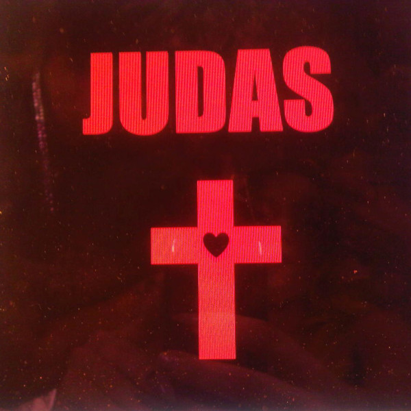 lady gaga judas cover art. lady gaga judas album.
