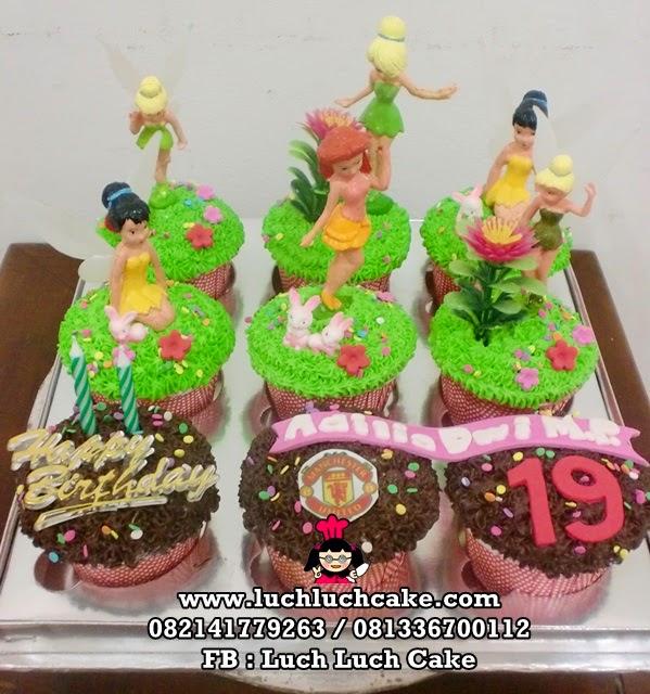 Cupcake Tinkerbell Daerah Surabaya - Sidoarjo