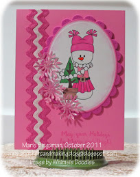 This card won at Whimsie Doodles!