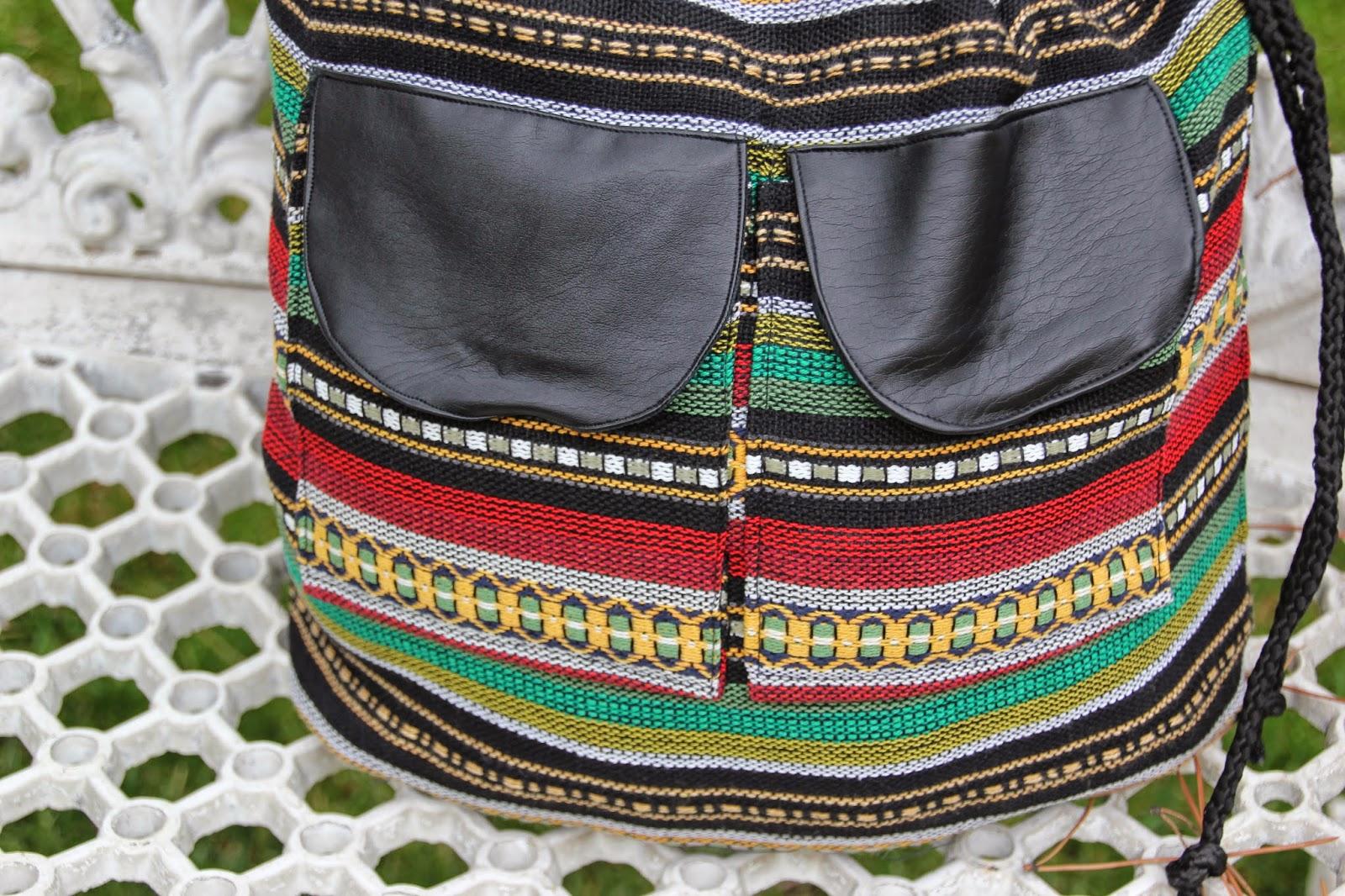 DIY Cómo hacer un bolso Mochila tipo étnico :D | | Oh, Mother Mine DIY!!