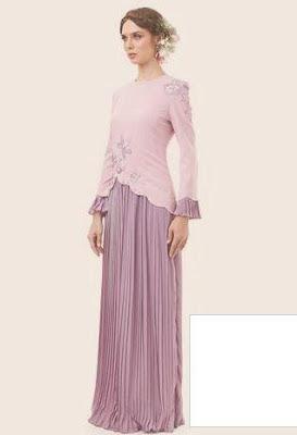 fesyen desain baju raya