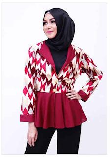 Permalink to Style Fashion Busana Muslim Modern untuk Wanita Karir 2016