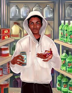 Trayvon Martin Painting