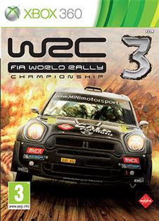WRC 3: FIA World Rally Championship   XBOX 360