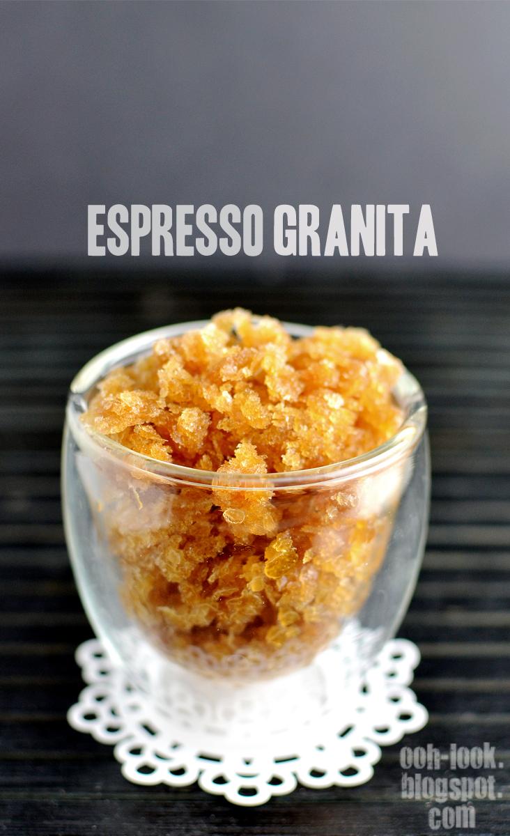 Espresso Granita plus a Fab Giveaway!