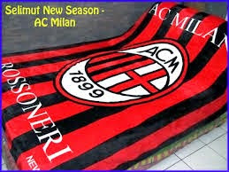 Jual Selimut New Seasons Blanket Ac Milan