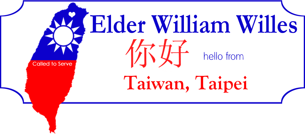 Elder William Willes Taiwan Taipei