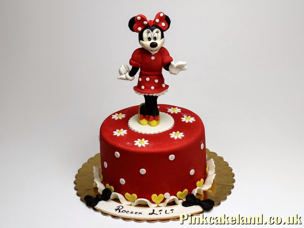 Minnie Mouse Birthday Cake in Chelsea