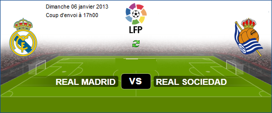 Espagne Liga BBVA : Regarder Match En Direct Real Madrid vs Real ...