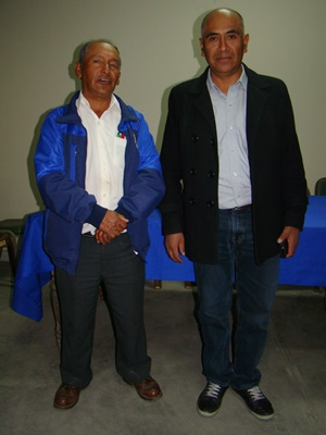 DIRIGENTES DE LA LIGA PROVINCIAL DE HUARAZ...