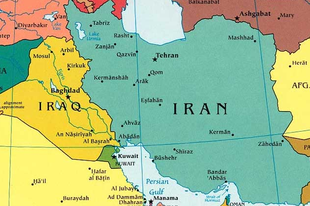 Map Locations of Iran and Tehran Pictures Middle East Countries