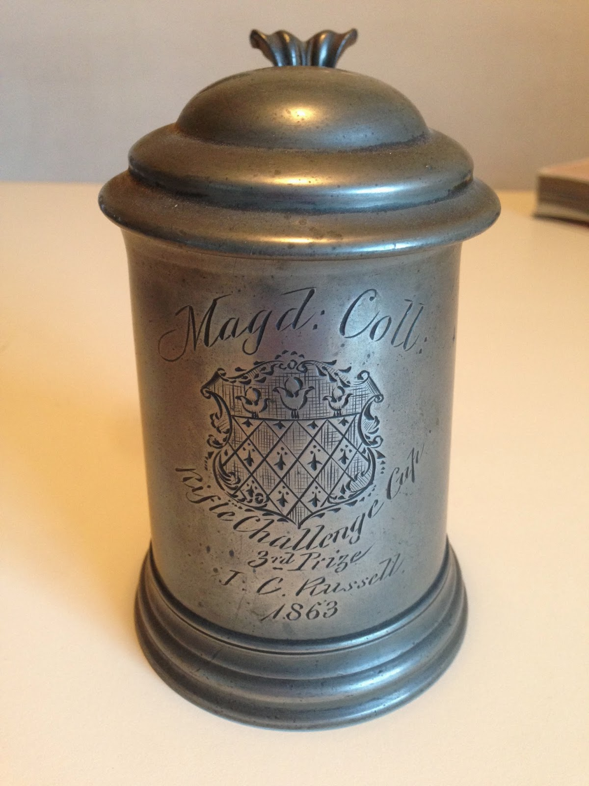 Russell's Rifle Challenge Cup Trophy