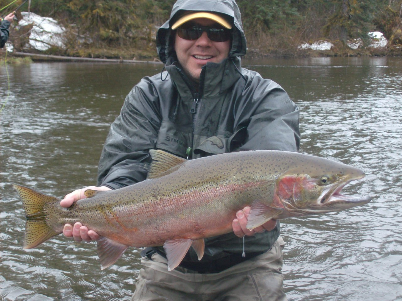 Situk river in alaska guide gil muhleman s visit water for Best time to fish in alaska