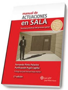 Manual de actuaciones en Sala. Disponible en Libreria Cilsa de Alicante.