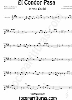 Partitura de para Clarinete by Sheet Music for Clarinet Music Scores