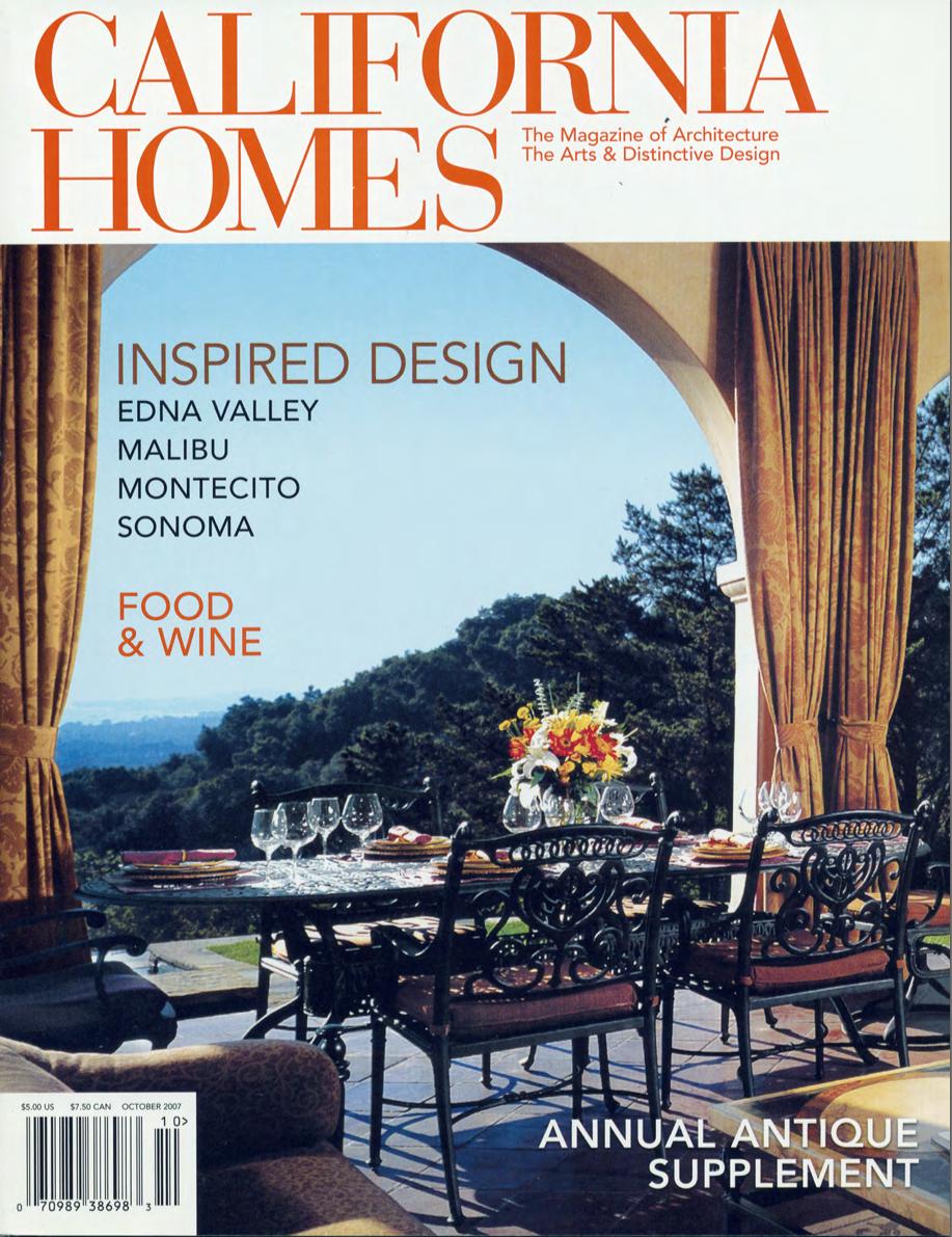 California Homes Magazine Sonoma Ca