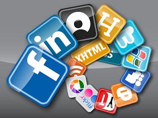 Redes sociais reduzem sociabilidade- Espiral de redes sociais abertas em leque
