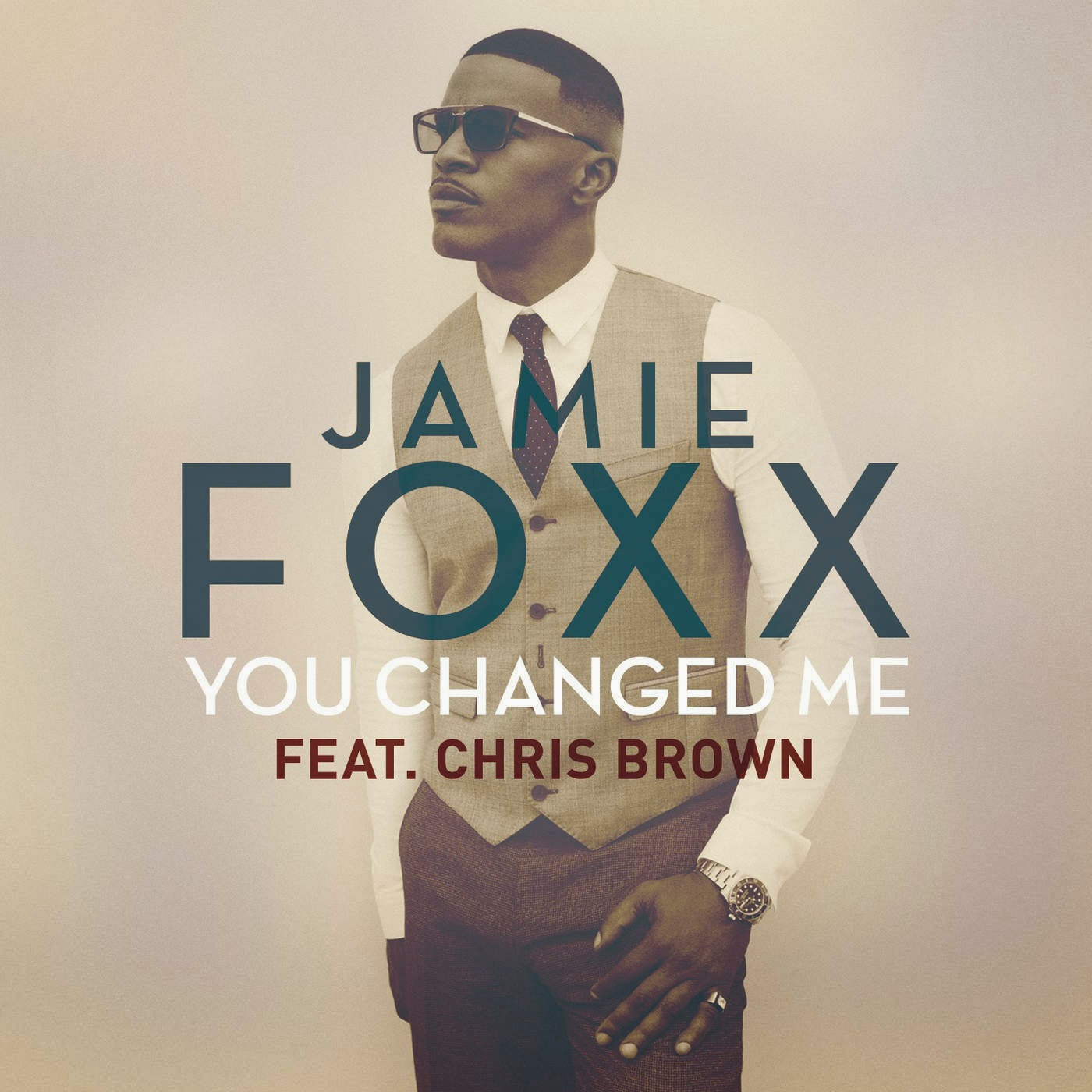 Jamie Foxx - You Changed Me (feat. Chris Brown) - Single Cover