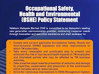 New TM OSHE Policy 2014