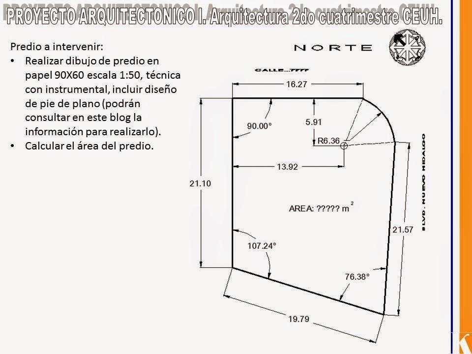 Y cuando tenga tiempo que voy hacer proyecto for Pie de plano arquitectonico pdf