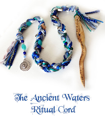 The Ancient Waters Ritual cord with Driftwood Ivy from Moonscrafts.