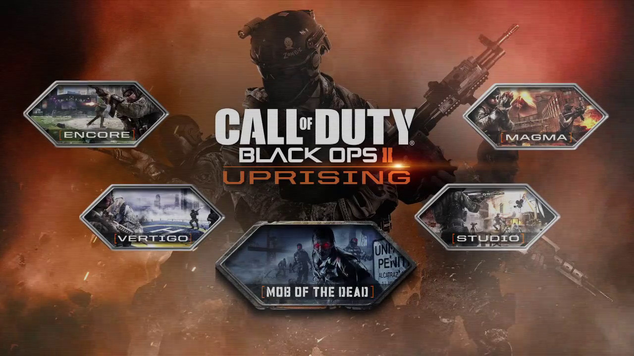 Call of Duty: Black Ops 2 DLC 2 Uprising Map Pack REDEEM CODE Download