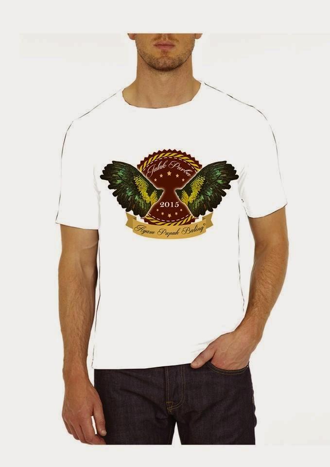 T-shirt Ayam Pupuh Baling