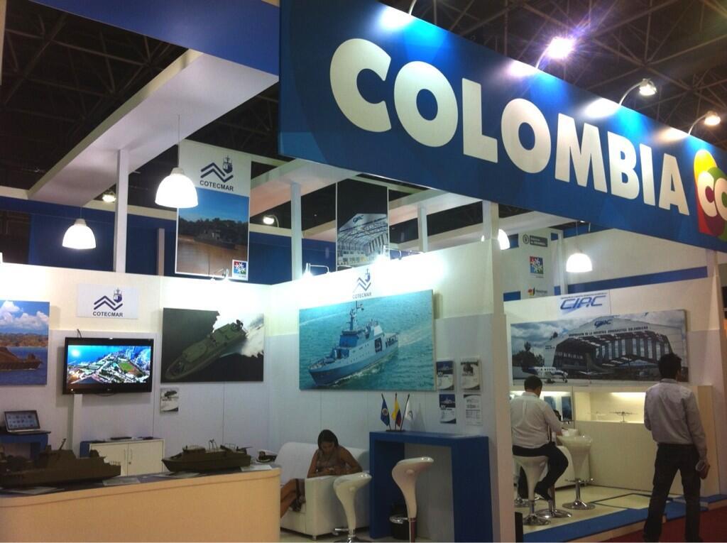 Colombia estará como expositor en la Feria Internacional de Defensa y Seguridad LAAD Defence & Security, que se realiza la próxima semana en Río de Janeiro, con la intención de mostrar al mundo su industria militar.